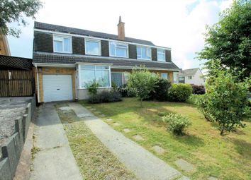 Thumbnail 5 bed semi-detached house for sale in Boringdon Hill, Plympton