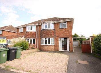 Thumbnail 5 bed semi-detached house to rent in Woodstock Road, Worcester