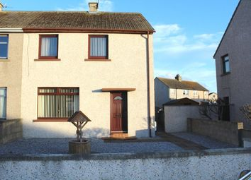 Thumbnail 2 bed semi-detached house for sale in St Peters Road, Buckie
