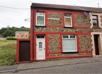 Thumbnail 4 bed end terrace house for sale in Nythbran Terrace, Porth