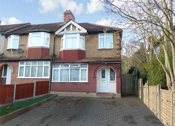 Thumbnail 3 bed end terrace house for sale in Wadham Gardens, Greenford, Middlesex