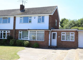 Thumbnail 5 bed semi-detached house for sale in Lavenham Drive, Woodley, Reading