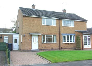 Thumbnail 2 bedroom semi-detached house for sale in Lea Close, Allestree, Derby