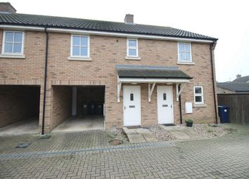 Thumbnail 2 bed terraced house for sale in Willow Rise, Somersham, Huntingdon