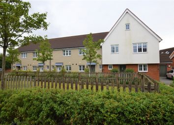 Thumbnail 4 bedroom end terrace house for sale in Saffron Way, Little Canfield, Dunmow
