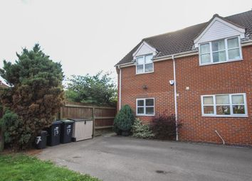 Thumbnail 2 bed semi-detached house for sale in Brookside, Sutton, Ely