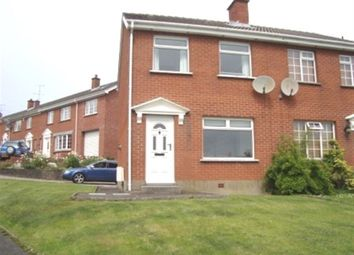 Thumbnail 3 bed semi-detached house to rent in Muskett Avenue, Carryduff, Belfast