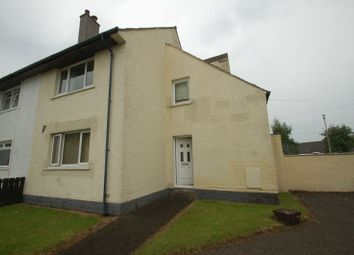 Thumbnail 3 bed terraced house for sale in Covington Oval, Carstairs Junction, Lanark