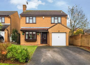 Thumbnail 4 bed detached house for sale in Caudebec Close, Uppingham, Oakham