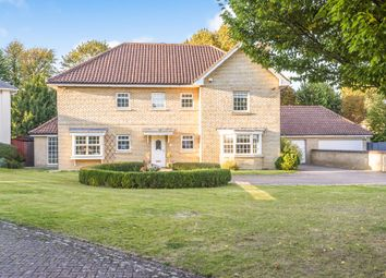 Thumbnail 5 bed detached house for sale in Palace Gardens, Royston