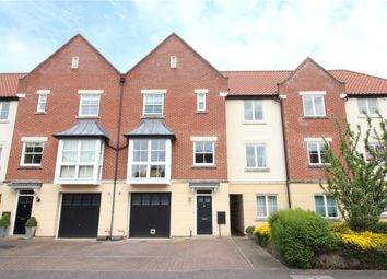 Thumbnail 3 bed town house to rent in Hamilton Court, Trafalgar Square, Poringland, Norwich