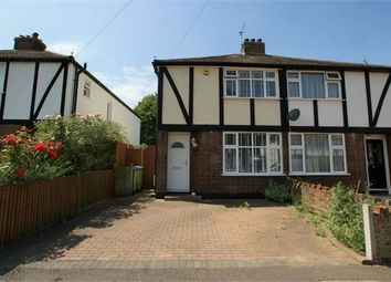 Thumbnail 2 bed semi-detached house to rent in Burwood Close, Hersham, Walton-On-Thames, Surrey