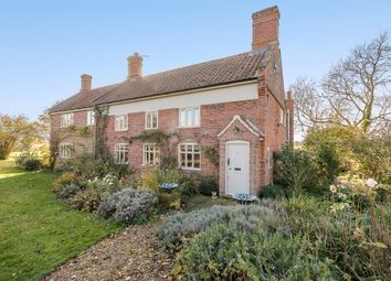 Thumbnail 4 bed detached house for sale in Earsham Road, Hedenham, Bungay