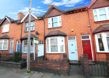 Thumbnail 2 bed terraced house for sale in Lytton Road, Clarendon Park, Leicester