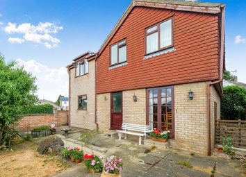 Thumbnail 4 bed detached house for sale in Meadow Close, Thurlton, Norwich