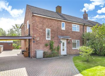 Thumbnail 4 bed semi-detached house for sale in White Hill, Ecchinswell, Newbury, Hampshire