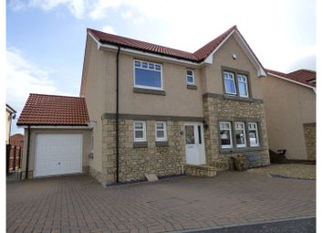 Thumbnail 4 bed detached house for sale in Inchkeith Crescent, Kirkcaldy