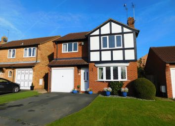 Thumbnail 4 bed detached house for sale in Ashmore Drive, Gnosall, Stafford