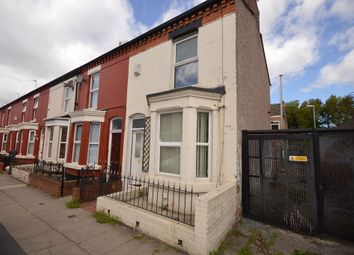 Thumbnail 3 bedroom end terrace house for sale in Beechwood Road, Litherland, Liverpool