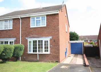 Thumbnail 2 bed semi-detached house to rent in Cornfield Drive, Lichfield