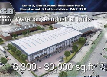 Thumbnail Light industrial for sale in Zone 3 Burntwood Business Park Burntwood, Staffordshire