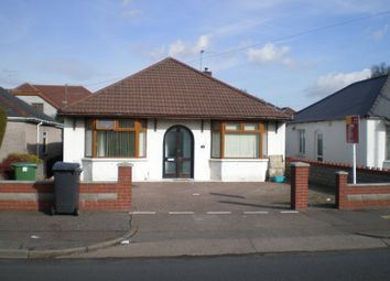 Thumbnail 4 bed detached bungalow to rent in Manor Way, Whitchurch, Cardiff