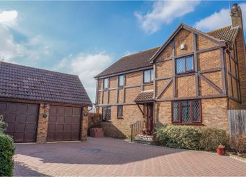 Thumbnail 4 bed detached house for sale in Bacon Hill, Olney