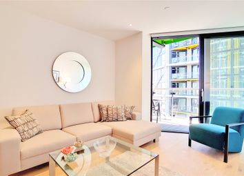 Thumbnail 2 bed flat for sale in Riverlight Quay, London