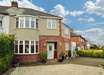 Thumbnail 4 bed semi-detached house for sale in Grange Drive, Glen Parva, Leicester