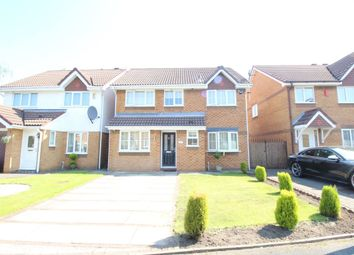 Thumbnail 4 bed detached house for sale in Dearne Drive, Stretford, Manchester