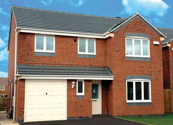 Thumbnail 4 bedroom detached house for sale in The Hazlemere At Phoenix Place, Unwin Road, Sutton In Ashfield