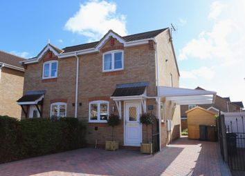 Thumbnail 2 bed semi-detached house for sale in Amblecote Drive, Weston Park