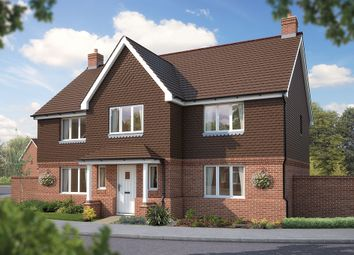 "Thumbnail 5 bed detached house for sale in ""The Truro"" at Bridge Road, Bursledon, Southampton"