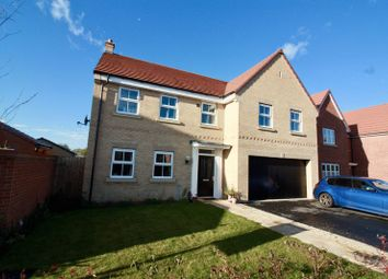 Thumbnail 5 bed detached house for sale in Squires Close, Pocklington, York