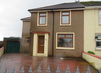 Thumbnail 3 bed semi-detached house for sale in Gelli, Llanharry, Rhondda Cynon Taff.