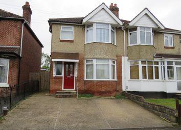 Thumbnail 3 bedroom semi-detached house for sale in Vespasian Road, Southampton