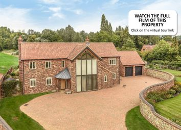 Thumbnail 4 bed detached house for sale in Partridge Court, Gooderstone, King's Lynn