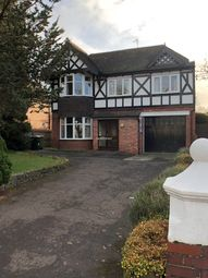 Thumbnail 5 bed detached house to rent in Albert Road, Wolverhampton
