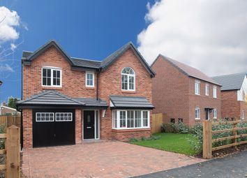 Thumbnail 4 bedroom detached house for sale in Fountain Lane, Davenham, Northwich