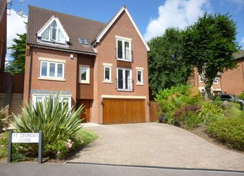 Thumbnail 6 bed detached house to rent in St. Georges Close, Allestree, Derby
