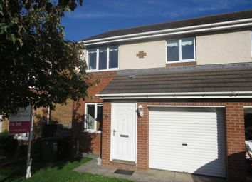 Thumbnail 3 bed semi-detached house to rent in Goldcrest Close, Bishop Cuthbert, Hartlepool