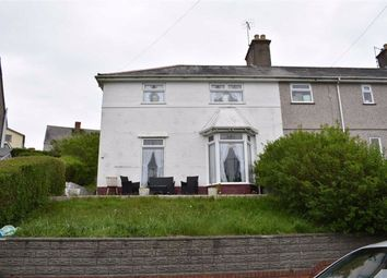 Thumbnail 3 bedroom end terrace house for sale in Pantycelyn Road, Townhill, Swansea