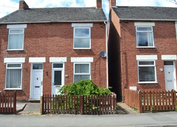 Thumbnail 2 bed semi-detached house for sale in Coronation Street, Overseal, Swadlincote