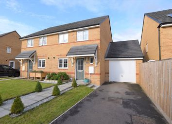 Polden Walk, Midsomer Norton, Radstock BA3. 3 bed semi-detached house for sale