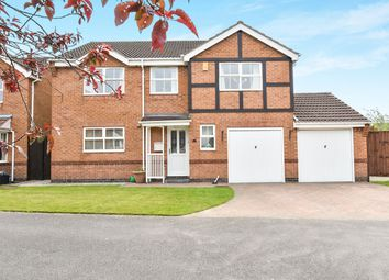 Thumbnail 5 bed detached house for sale in Hopton Close, Ripley