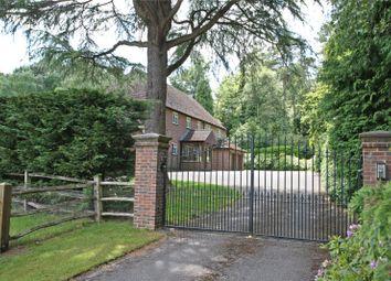 Thumbnail 4 bed detached house for sale in Tilford Road, Tilford, Farnham, Surrey