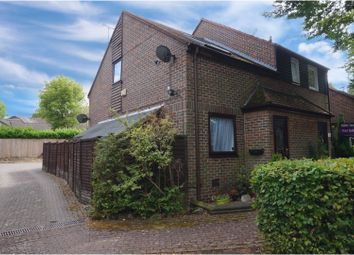 Thumbnail 2 bed end terrace house for sale in Orbit Close, Chatham