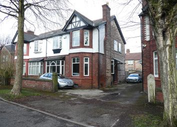 Thumbnail 4 bed semi-detached house for sale in Chelford Road, Old Trafford, Manchester.