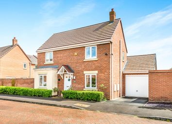 Thumbnail 3 bed detached house for sale in Brindley Road, Hawkesyard, Rugeley