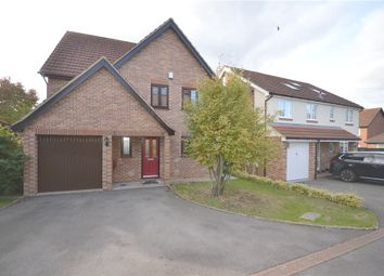 Thumbnail 4 bed detached house for sale in Norfolk Chase, Warfield, Bracknell